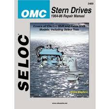 Omc Stern Drive Propeller Chart Seloc Service Manual Omc Sterndrive 1964 1986