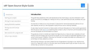 f digital service delivery melody continue reading about 18f s style guide for open source project documentation