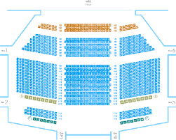 Charlotte Performing Arts Center Seating Chart Best Seats In A Theater