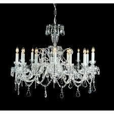 trutnov bohemian 16 light crystal chandelier cb125913 16