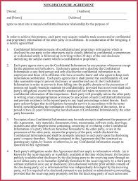 Business Confidentiality Agreement - Nda, Cda, Pia - Best Samples