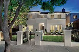 Warm Exterior Design Of The Modern House Design With House Color - Modern houses interior and exterior