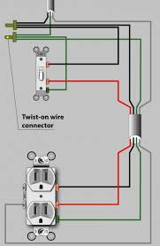 an electrician explains how to wire a switched (half hot) outlet 2 Pole Switch Wiring Diagram wiring diagram for power in the switch box (not the preferred method, but acceptable
