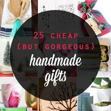 great list of gorgeous handmade gifts that are and easy to make inexpensive diy