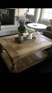 Victorian solid pine plank top kitchen dining table with. Large Square Rustic Baluster Wide Plank Coffee Table Farmhouse Coffee Table Shabby Chic Table Rusti Coffee Table Farmhouse Coffee Table Shabby Chic Dining Room