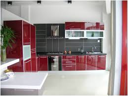 Red Kitchen Paint Kitchen Red Kitchen Appliances Supple Apartment Paint S Then Red