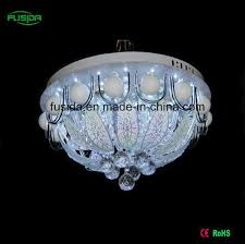 china 2016 new design glass crystal ceiling light 450mm with and remove control for china lighting ceiling light