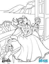 Barbie THE PRINCESS & THE POPSTAR coloring pages - coloring for girls