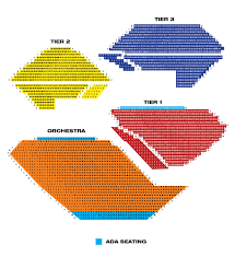 seatmap for segerstrom center for the arts view seat map details