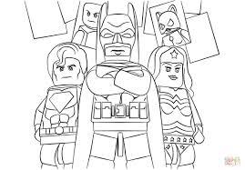 Disegno Di Lego Super Heroes Da Colorare Disegni Da Colorare E Con
