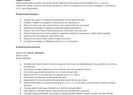 Dental Hygiene Resume Examples Dental Resume Examples Free Sample ...