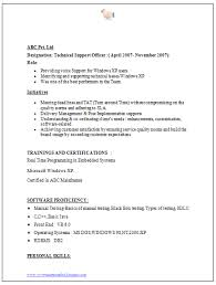 Bachelor Of Science Resume