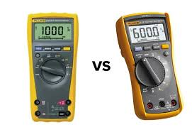 Fluke Tester Comparison Chart Fluke 117 Vs 177 Comparison Fluke 117 Vs 177 Digital