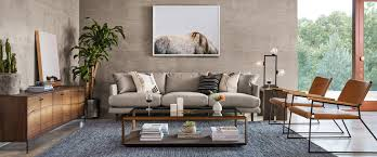 Earthy furniture Natural Style Living Room With Couch Chairs Credenza And Coffee Table Interior Design Ideas Modern Organic Style How To Get That Modern Earthy Look Hayneedle