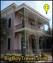 garden district new orleans walking tour map. Garden District Walking Tour Map, New Orleans, Free, Musson-Bell House Orleans Map