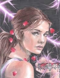 red queen fan art by agustinazanelli