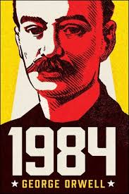 orwell 1984 book cover 25