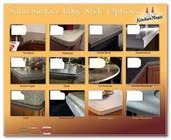 countertop edge styles countertop edge types as white granite countertops