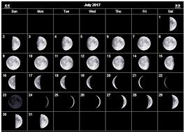 Full Moon July 2017 Calendar Moon Phase Calendar November