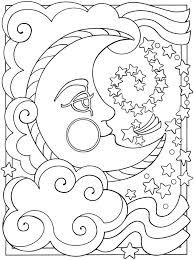Sun And Moon Coloring Pages Sun And Moon Coloring Pages Stars And