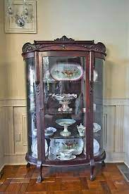 Shop our glass curio cabinets selection from the world's finest dealers on 1stdibs. 1800 1899 Antique Curved Glass China Cabinet Vatican