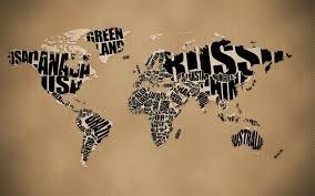 World Art Design World Map Art Design Desktop Wallpapers 1400x1050