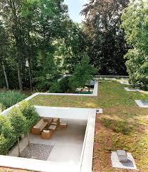 Zen Garden Designs Cool Modern House With Zen Garden And Green Roof Architecture