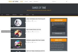 Blogger Mobile Template 25 Free Responsive Blogger Templates 2016 Free Download