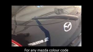 How To Find A Mazda Colour Code The Easy Way