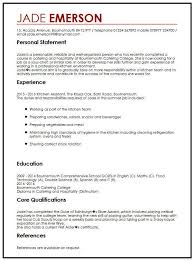 Examples Of Personal Statements For Cv Cv Example For Teenagers Myperfectcv