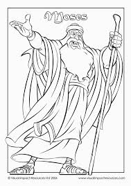 Moses Coloring Pagesgood Moses Page Could Be Colored Cut Out And