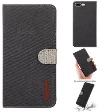 linen cloth pudding leather case for iphone 8 plus 7 plus 7p 5 5 inch
