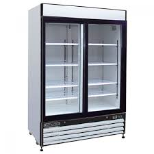 ma cold mxm2 48r 2 glass swing door refrigerated merchandiser