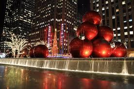 Radio City and the NYC Christmas Balls