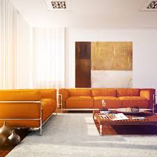 Orange Living Room Cgarchitect Professional 3d Architectural Visualization User