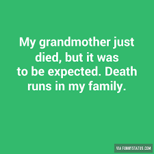 The death of my grandfather essay