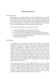 Executive Summary Outline How To Write An Executive Summary For A Business Plan Pdf