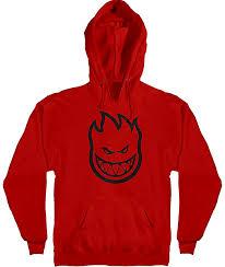 spitfire hoodie men. spitfire bighead red hoodie men