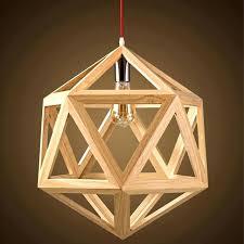 modern wood chandelier wooden chandeliers led lamp home decoration unique lighter mid century
