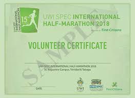 Volunteer Certificates Participation Certificates