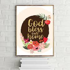 god bless our home printable art wall decor typography on bless our home wall art with unique god bless our home wall decor ideas wall painting ideas
