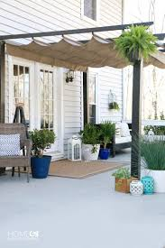 Simple Patio Styling: From Bare to Beautiful! Pergola DesignsOutdoor ...