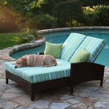 double wide chaise lounge patio furniture triple wide chaise