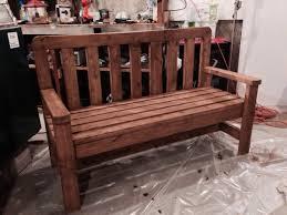 diy 2x4 bench plans
