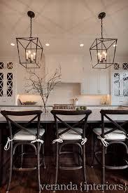 kitchen lighting fixtures over island. White Shaker Style Kitchen With Steel Pendant Lighting Kitchen Lighting Fixtures Over Island