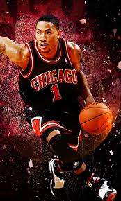 bulls wallpaper derrick rose. Plain Derrick Derrick Rose Wallpaper With Bulls L