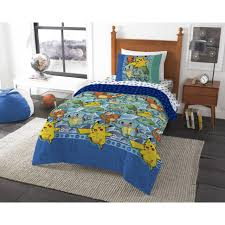 bedspread pokemon first starters piece twin bag bedding set bedspreads and comforters quilted king cream linen blue for size grey cotton quilts comforter