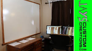 HUGE Home Made Dry Erase Board For $20 - 114 - YouTube