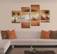 merveilleux home goods wall art canvas african landscape woman face and elphant 100 handmade oil on wall art home goods with home goods wall art talentneeds