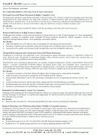 Resume Header Examples Examples Of Resumes